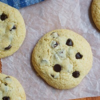 Soft Chocolate Chip Pudding Cookies (my husband's favorite)